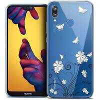 "Coque Crystal Gel Pour Huawei P20 LITE (5.84"") Souple Summer Papillons"