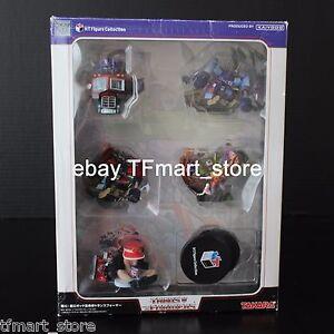 Transformers K-T Mini-Bust Sculpture Optimus Prime Rumble Frenzy Devastator MIB