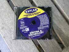 1100) Kaplan Writing & Vocabulary Essential Review 2001 Cd Win/Mac