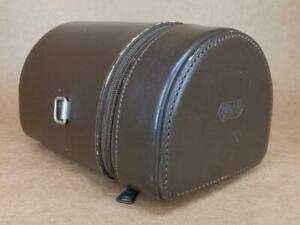 Leitz New York Leather Lens Case #13 for 135mm Elmarit with Goggles