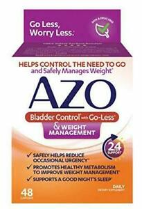AZO Bladder Control with Go-Less® & Weight Management Dietary Supplement |...