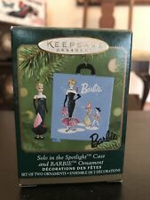 Hallmark Keepsake Barbie - Miniature Solo in the Spotlight Ornament