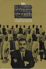"""Vintage 6"""" x 9"""" Promo Pamphlet: Howard Roberts Chorale Funk Gospel '60s Original"""