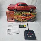 VINTAGE RARE RED Radio Shack '64 Impala Lowrider Radio Control Hydraulics R/C