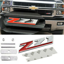 1x Metal Z71 Front Grille Emblem Badge For GMC Chevy Silverado 1500 Sierra Tahoe