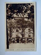 PARIS Montparnasse le Royal Hotel old postcard Parigi France