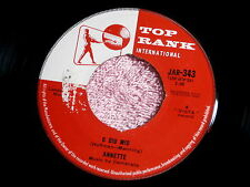 ANNETTE~O DIO MIO~VG++~IT TOOK DREAMS~TOP RANK~IMPORT~ TEEN 45