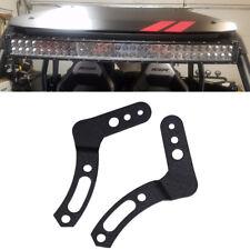 "For 11-17 POLARIS RZR 900 1000 800 Under Roof 32""INCH LED LIGHT Roll Bar Bracket"
