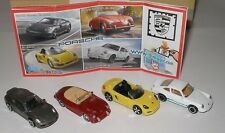 """Komplett Satz """"Porsche"""" 2013 mit allen Zetteln"""