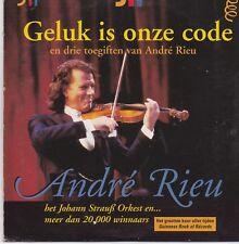 Andre Rieu-Geluk Is Onze Code cd single