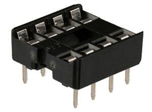 DIL IC Socket (8, 14, 16 Pin Sockets) Pack of 10 - UK