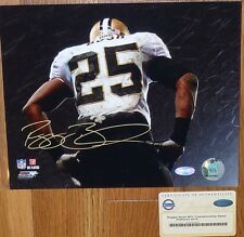 NEW ORLEANS SAINTS Reggie Bush AUTOGRAPHED SIGNED 8x10 NFC CHAMPS PHOTO STEINER