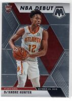2019 Panini Mosaic Basketball Rookie Debut RC De'Andre Hunter #266 Atlanta Hawks