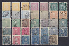 FUNCHAL MADEIRA 1892-1898, 34 STAMPS