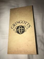 "Gringotts Bank Banknote ""Wallet"" Harry Potter BANKNOTE NOT INCLUDED"