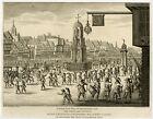 Antique Print-HISTORY-CHEAPSIDE CROSS-MARIA DE MEDICI-la Serre-1809