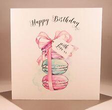 LUXURY Ladies Macaron Birthday Card - Wife Girlfriend Mother Daughter