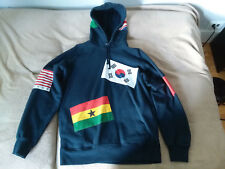 Supreme Flags Pullover Large Navy FW13 NWT EXTREMELY RARE!