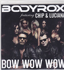 Bodyrox-Bow Wow Wow Promo cd maxi single 4 tracks