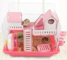 Heritage Hamster Cage Animal Play House Gerbil Mouse Cages Exercise Wash