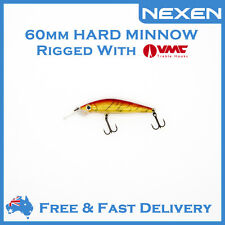 NEXEN Hardbody Minnow Bream Bass Lure for Saltwater Freshwater as Lucky Craft