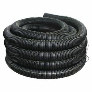 """Advanced Drainage Systems 04510100 4"""" X 100 Ft. Corrugated Drainage Pipe"""