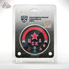 CSKA Moscow hockey puck 13th season 20-21 Russian Ice hockey club KHL team Army