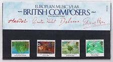 GB Presentation Pack 161 1985 British Composers 10% OFF 5