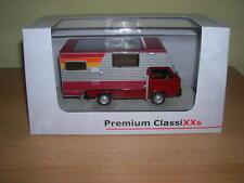Premium Classixxs VW T3a Camion à Benne Tischer-Camping Rouge Argent,Échelle 1 :