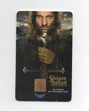 Télécarte - Le Seigneur des Anneaux   (A5680)