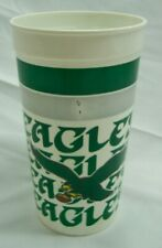 """New listing VINTAGE PHILADELPHIA EAGLES NFL FOOTBALL 7"""" Collector's PLASTIC CUP Kelly Green"""