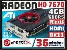 Desktop PC - NVIDIA GEFORCE - RADEON HD7670 Graphics Card 4GB/128bit DDR5