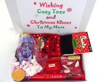 Personalised Christmas Hamper GIFT BOX Secret Santa Mum Best Friend Gran Lindt