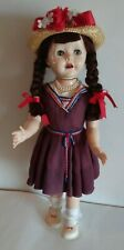LARGE PEDIGREE WALKER DOLL (1950's) - ALL ORIGINAL WITH FLIRTY EYES  + EXTRA!