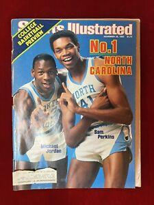 SPORTS ILLUSTRATED November 28, 1983 ~1st  MICHAEL JORDAN Cover + SAM PERKINS