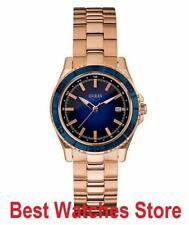 GUESS Women's Silver Plated Band Wristwatches
