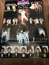 The Osmonds Live in LAS VEGAS 1975 Osmond Brothers  Donny Marie Poster ORIGINAL