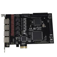TE420  4E1 card T1 card J1 card ISDN PRI PCI express Asterisk card for voip pbx