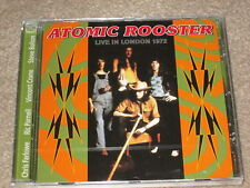 ATOMIC ROOSTER - LIVE IN LONDON 1972 - NEW CD