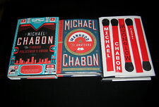 MICHAEL CHABON Set of 3 FIRSTS. Including Moonglow. Great Condition ALL SIGNED!