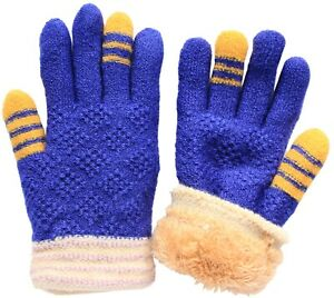Winter Kids and Teens Soft Super Thick Plush Lined Gloves