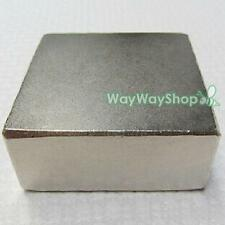 "N50 Neodymium Magnet 50x50x25mm 2x2x1"" Rare Earth Magnets Imanes Fuertes JW274"