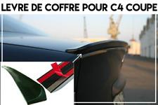 LAME DE COFFRE SPOILER LEVRE MALLE pour CITROEN C4 COUPE 2004-10 HDI THP VTi VTS