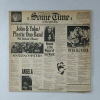 JOHN & YOKO/PLASTIC ONO BAND Some Time SVBB3392 Bell SF Dbl LP Vinyl VG+ near ++