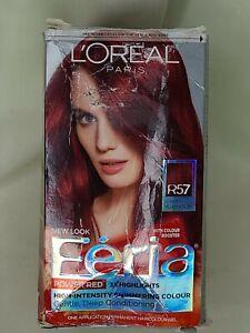 L'Oreal Paris Feria Permanent Hair Color Power Red Intense R57 Medium Auburn
