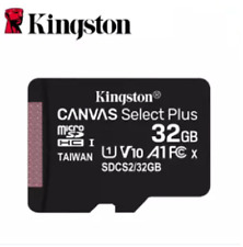Used Kingston Micro SD Card Memory SDHC Class 10 32GB Micro SD card With Adapter