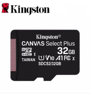 Kingston Micro SD Card Memory SDHC Class 10 32GB With Adapter Opened Only