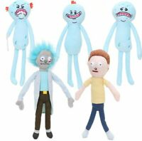 Rick and Morty plush toys Happy Sad Foamy Meeseeks Stuffed Plush Toys