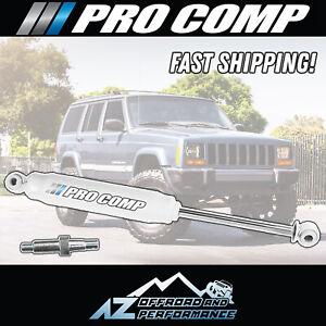 Pro Comp Single ES2000 Steering Stabilizer Kit 84-01 Jeep Cherokee XJ MJ 219200