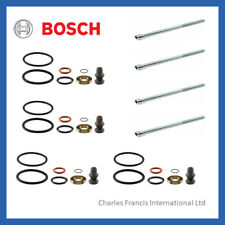 4 x GENUINE BOSCH INJECTOR SEAL KIT + BOLTS FOR  PD INJECTOR VW GOLF 2.0
